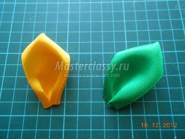 Как сделать лепестки для подсолнуха