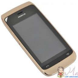 Телефон Nokia 308 (Asha) Golden Light (A00008668)