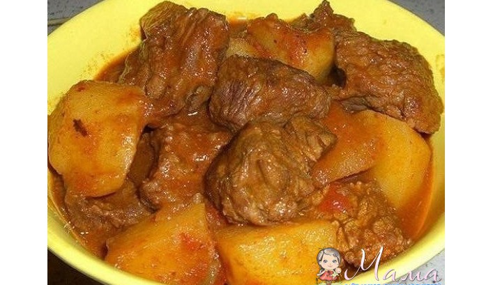 Рецепты из мяса говядины на второе с пошагово 163