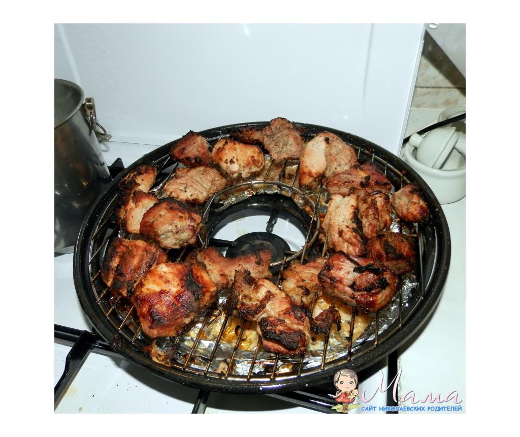 Рецепты для сковороды гриль газ