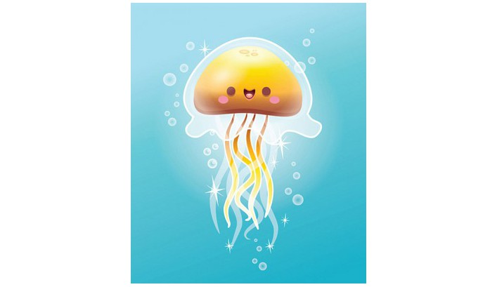 медуза картинки для детей