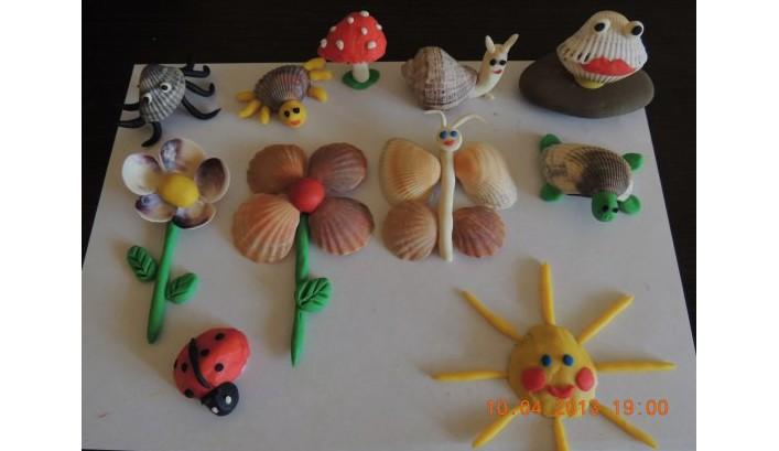 Поделки из ракушек для детей 6 лет своими руками 46