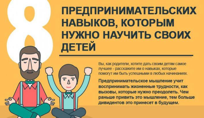 Как воспитать ребенка предпринимателем