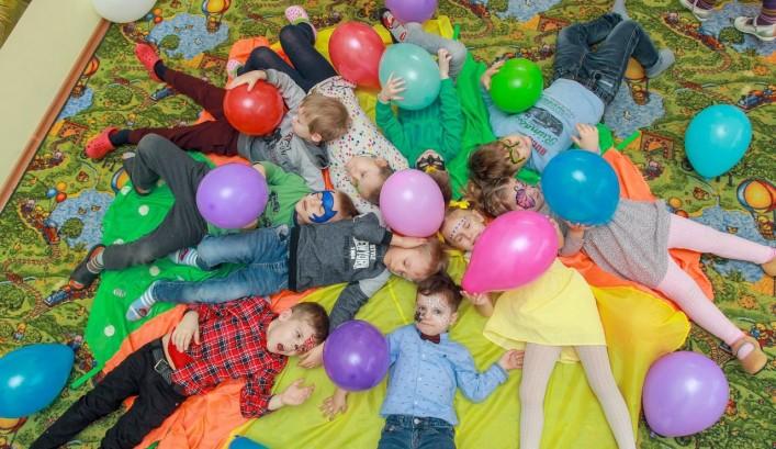 Проведение детского дня рождения в детском центре